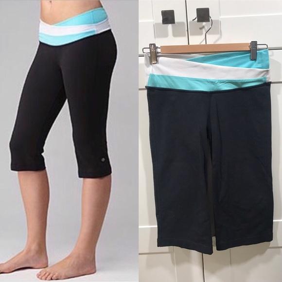 8af1388b4d lululemon athletica Pants | Lululemon Astro Crop Size 6 Capri ...